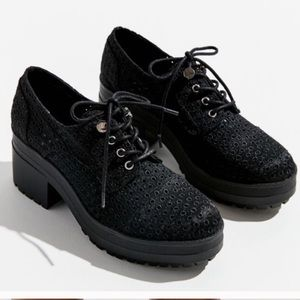 07eb8b04af95 ❗️Urban Outfitters Black Eyelet Oxfords NWT  59!